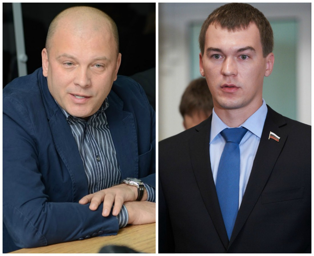 Александр Курдюмов и Михаил Дегтярев (справа)