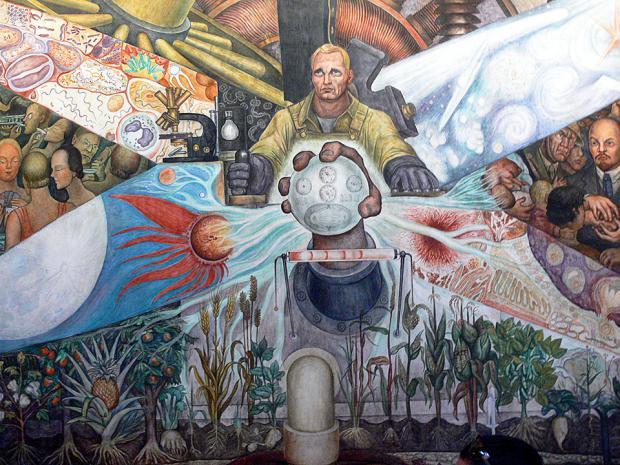 Природа человека и капитализм~diego_rivera