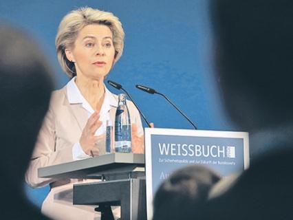 Урсула фон дер Ляйен изложила концепцию новой военной доктрины Германии