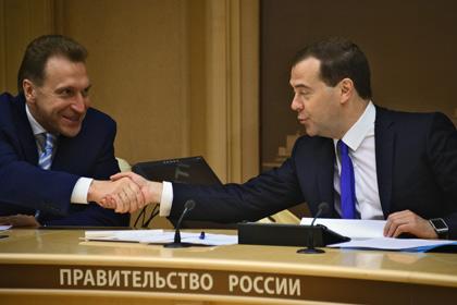 Игорь Шувалов - Дмитрий Медедев