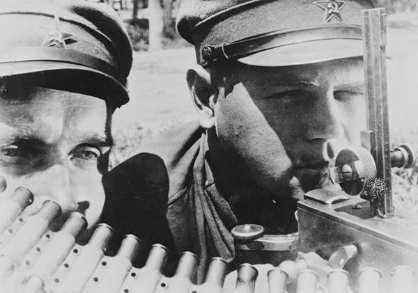 Пулеметчики одной из дальневосточных дивизий. Начало войны, 1941 год