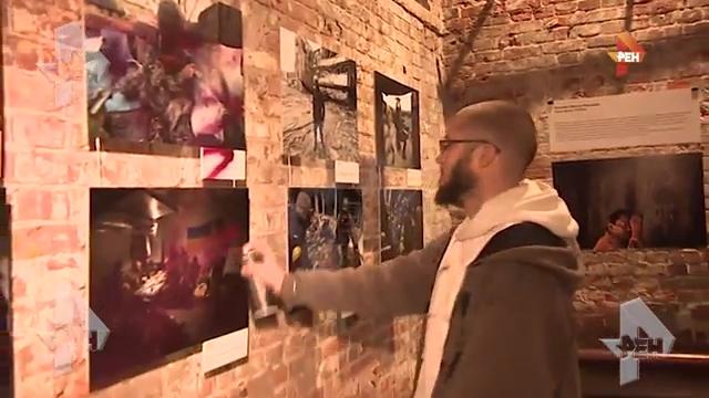 20160928_22-52-Автор фото с украинскими нацистами, облитых краской на выставке в Москве, объяснил, почему прославил карателей