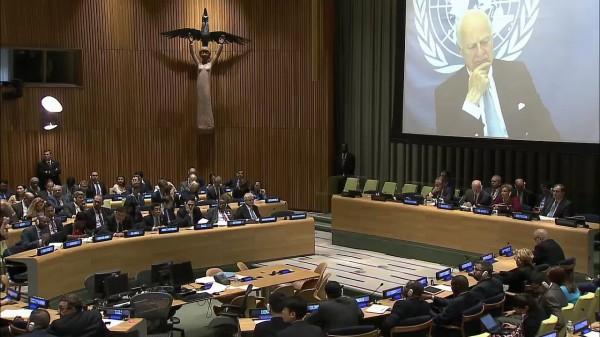 Чуркин очень эмоционально oтвeтил С. Пауэр и Генсеку ООН