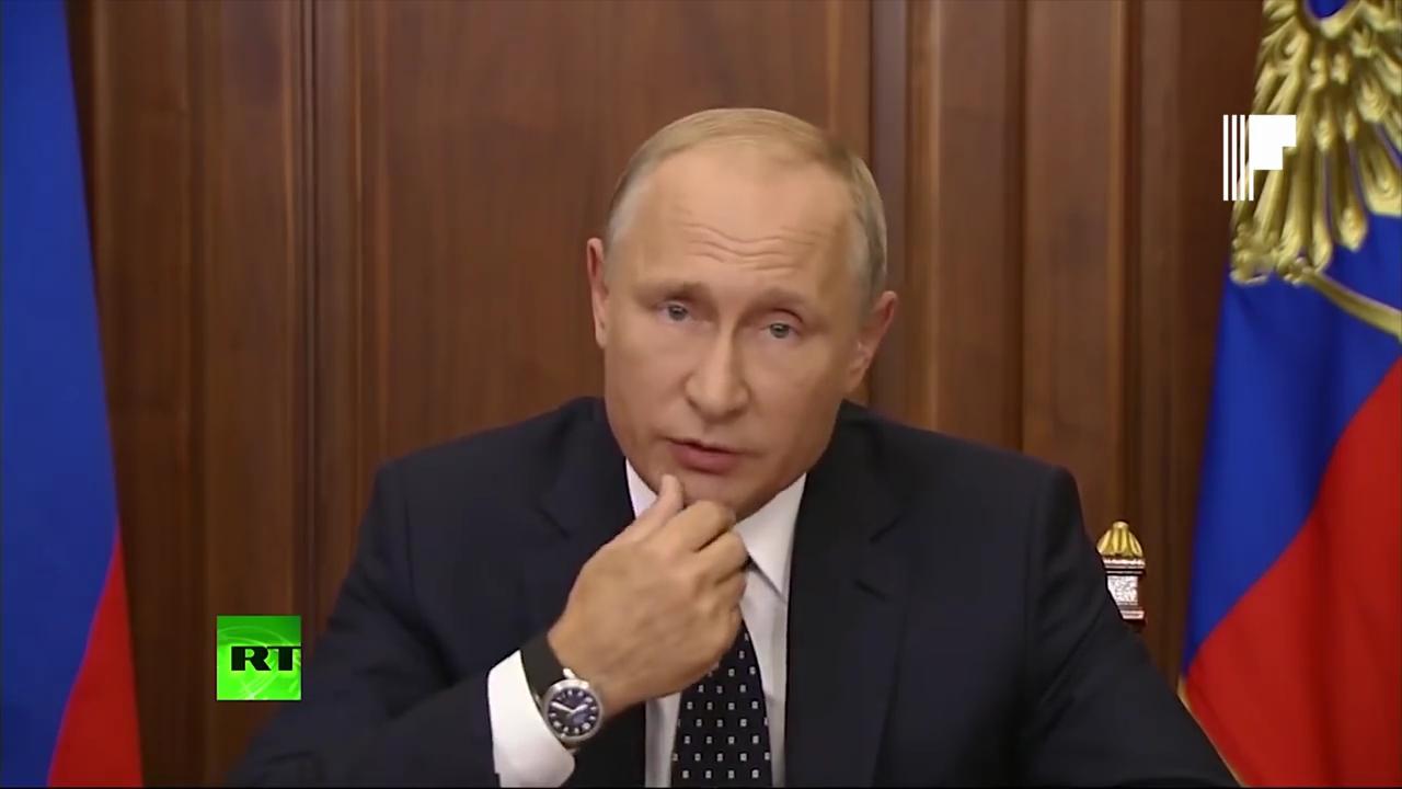 Путин - Обращение Президента к гражданам России