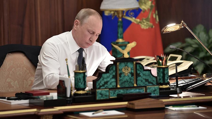 20181003_18-54-Путин подписал закон о внесении изменений в пенсионное законодательство
