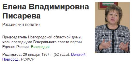 Елена Владимировна Писарева