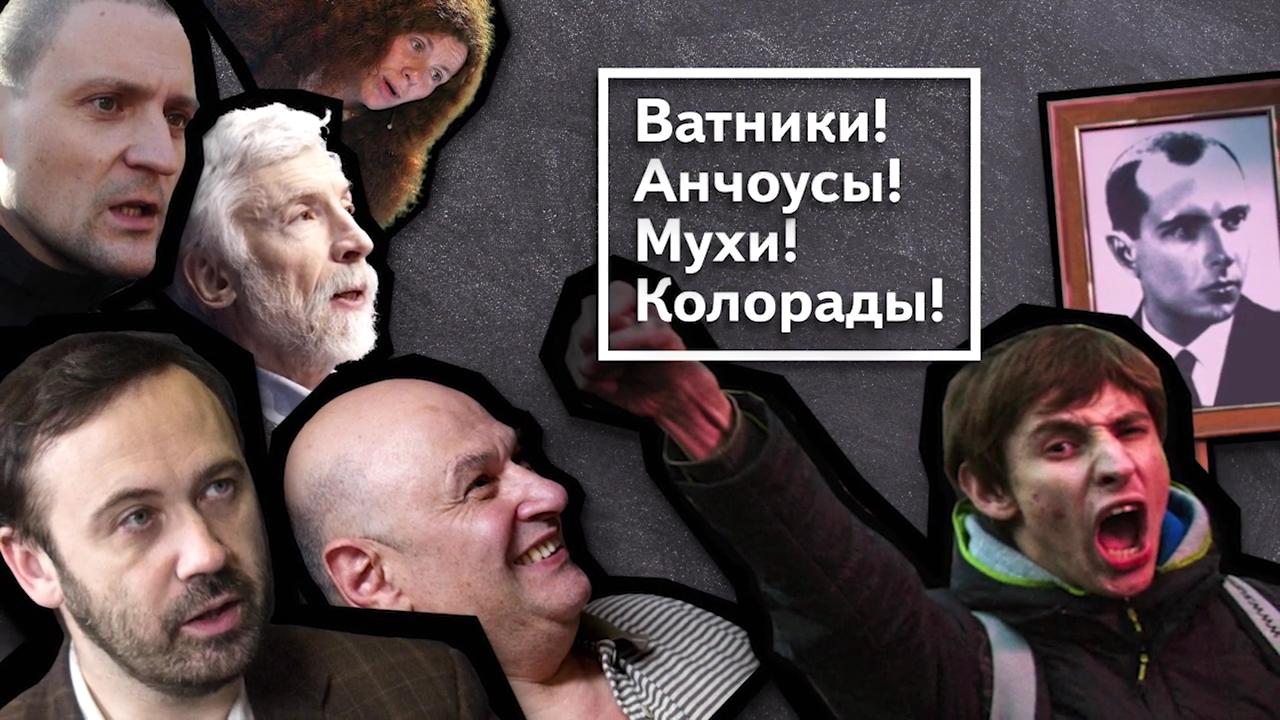 32-Леваки и бандеровцы атакуют Россию!  4 серия