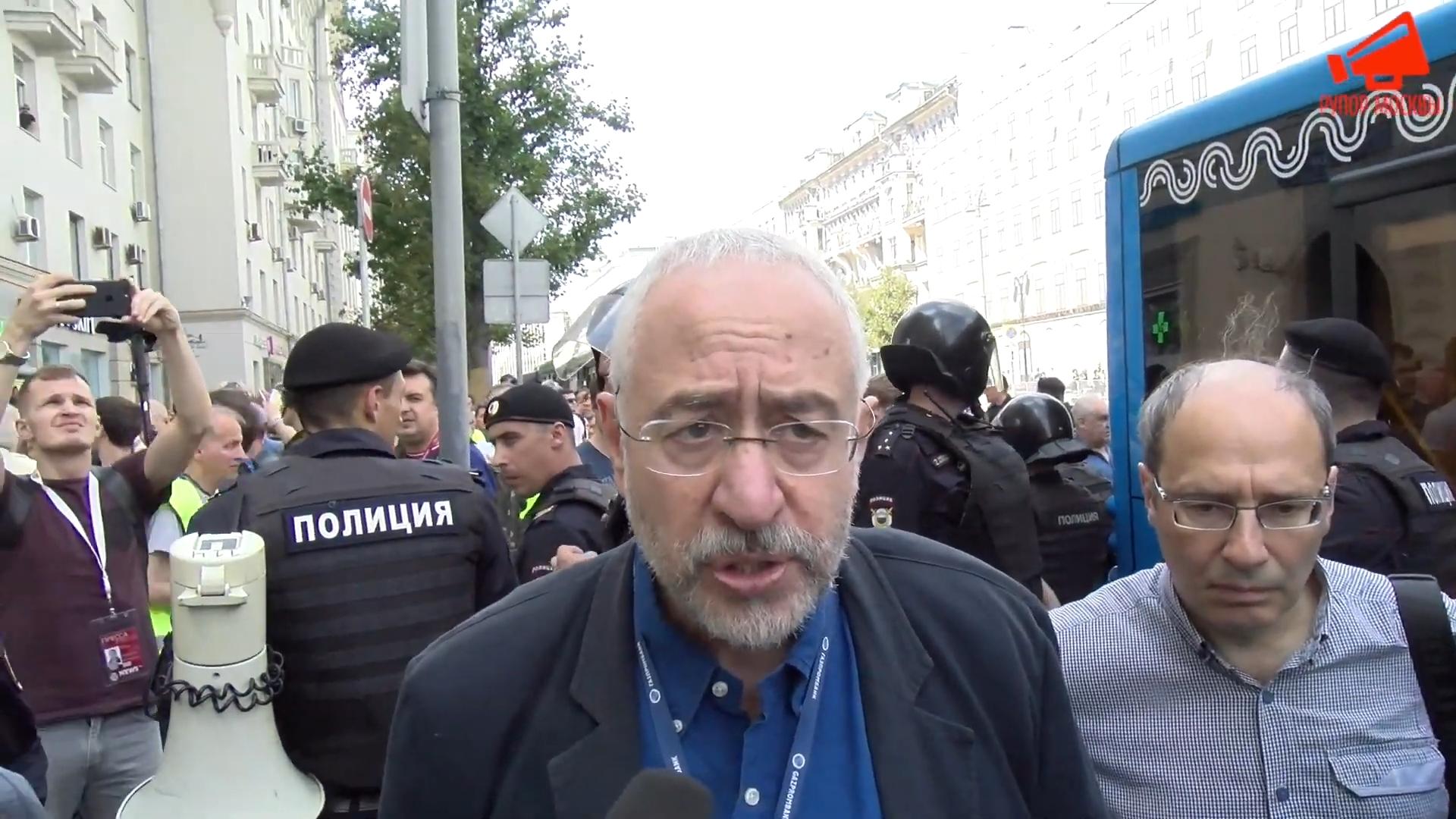 Член СПЧ Николай Сванидзе об акции 27 июля- «Задача властей была обезглавить оппозицию!»-pic1