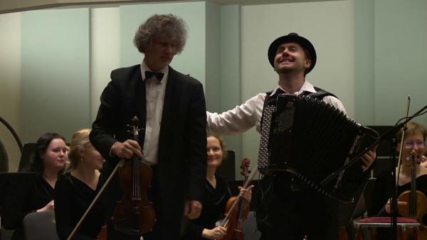 Czardas - Aydar Gaynullin & Darius Krapikas & Kaunas City Symphony Orchestra (2017)