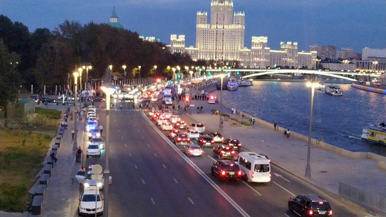 Китай-город, вид от зала «Зарядье»