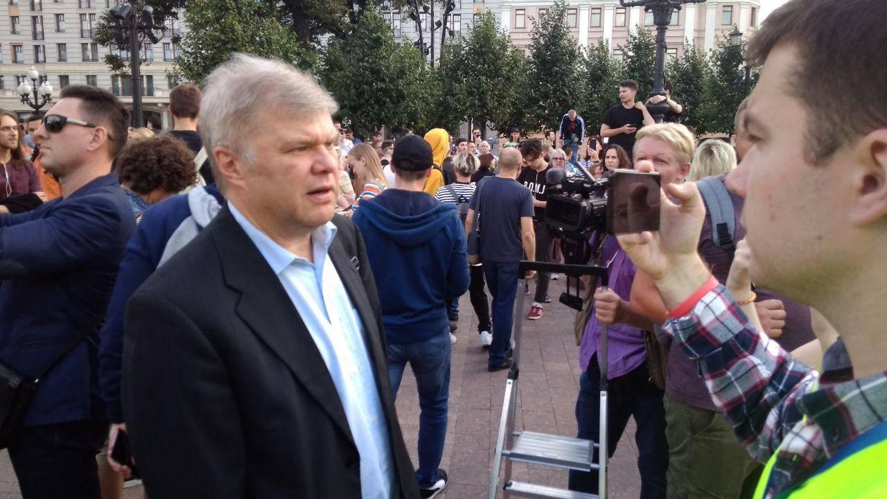 Зарегистрированный кандидат в депутаты от партии Яблоко