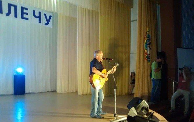 Андрей Макаревич на концерте в Святогорске