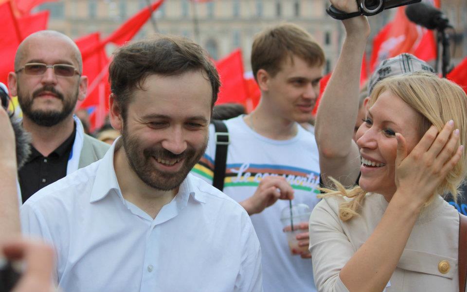 20120613-Алена Попова и Илья Пономарев 12 июня на Марше Миллионов-pic1
