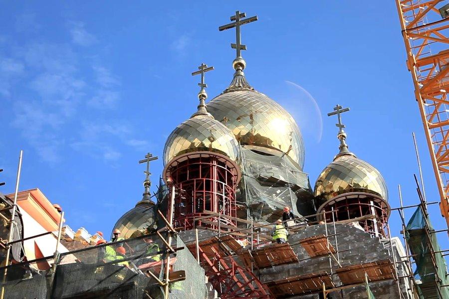 За восемь лет в Москве возвели 85 новых церкве