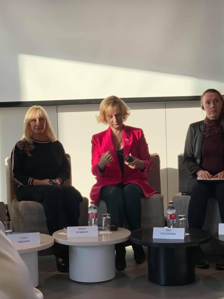 20191122-Утренняя дискуссия между парламентариями и экспертами из России и Швеции по вопросам гендерного равенства и насилия против женщин-pic1