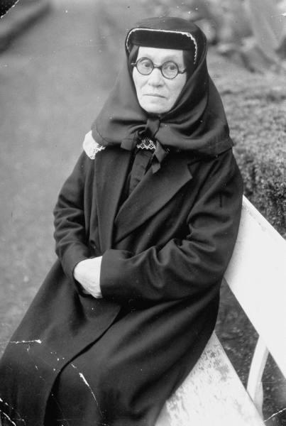 Мать И.В.Сталина - Екатерина Георгиевна Джугашвили
