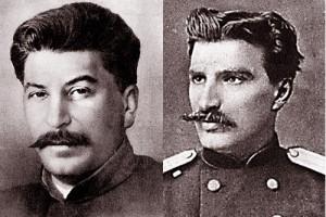 Слева – Николай Михайлович Пржевальский. Справа – Йосиф Виссарионович Сталин