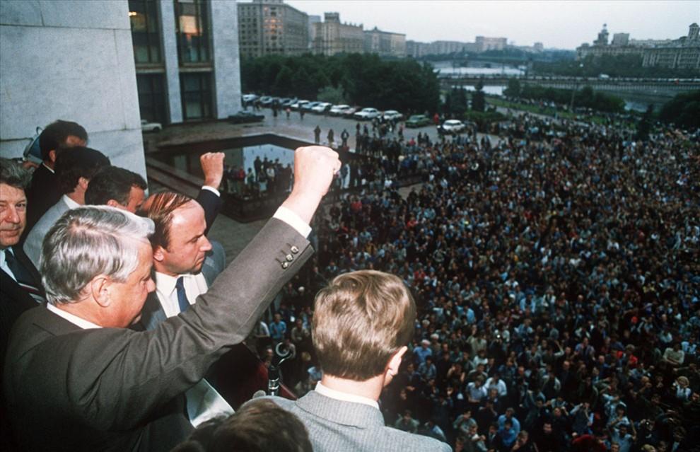 СССР Ельцин