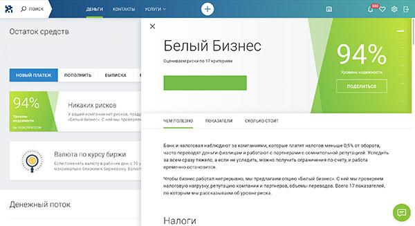 Скан аудиторской банковской программы с оценкой надежности Телестроки - 94%