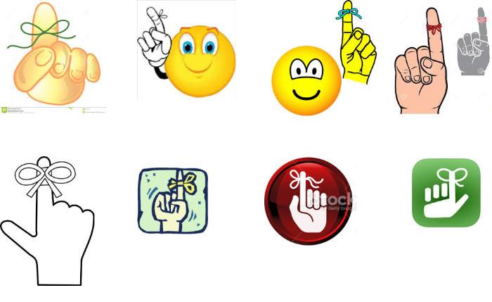 иконка палец: