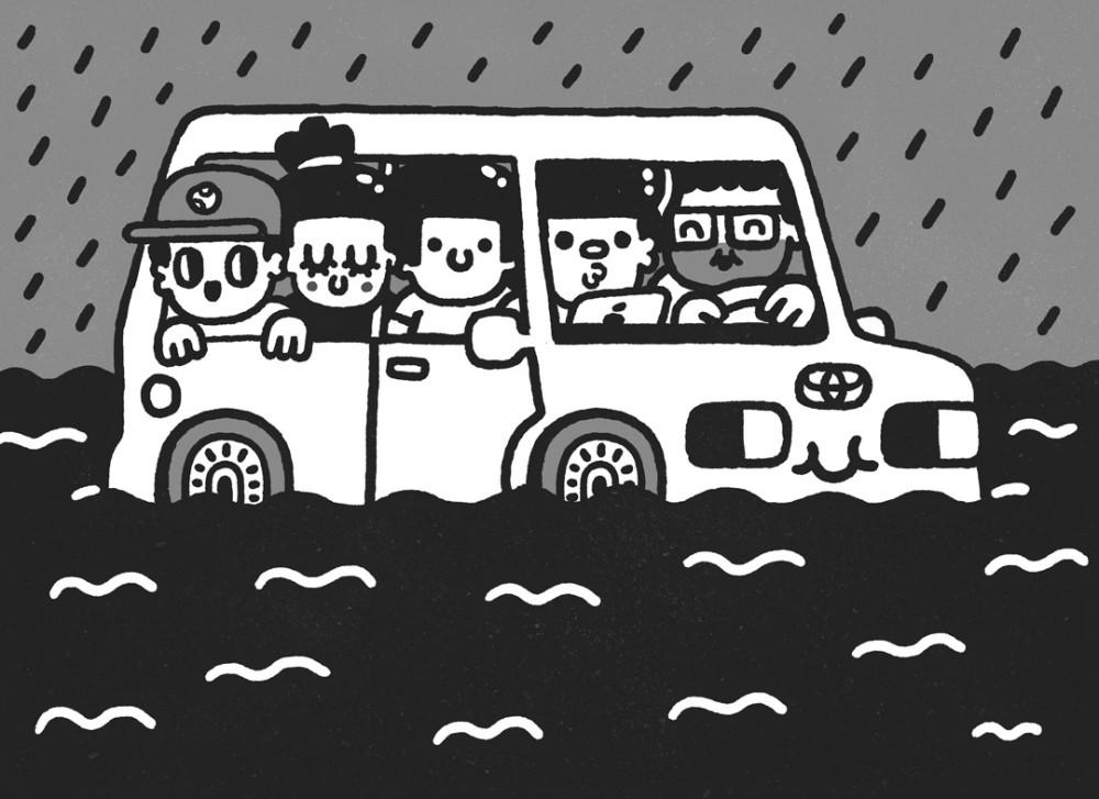 УикендЭтноЭксп на Тойоте. Экспедиция третья. Выезд из города. Видос. Рэп. Картинка. Фотки