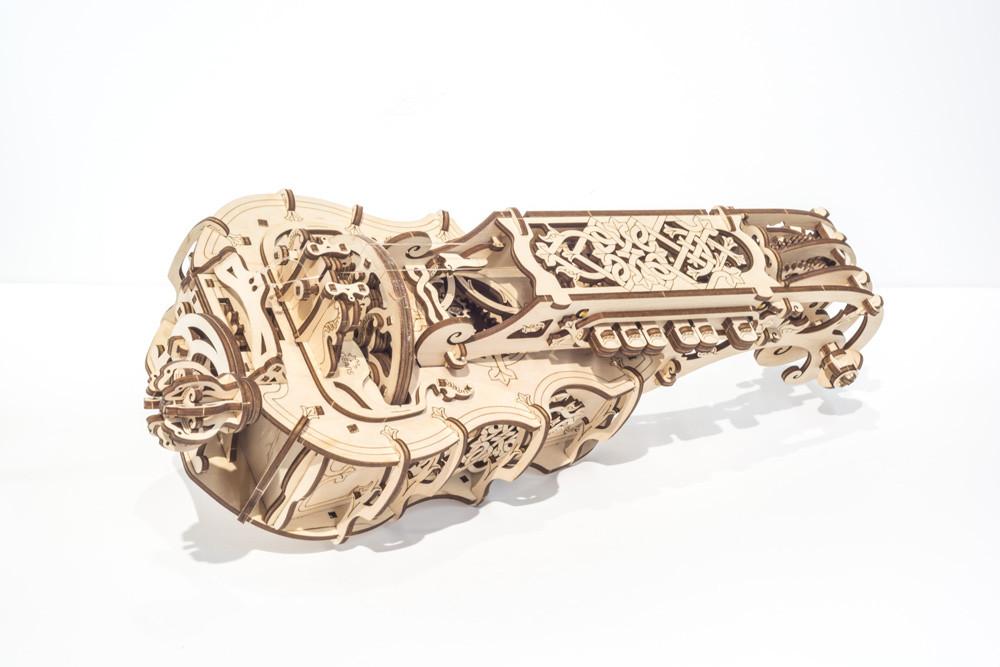 Конструктор деревянный музыкальный инструмент харди-гарди