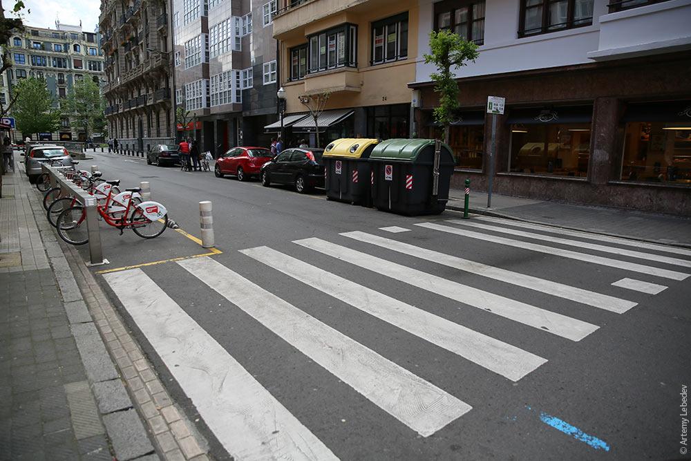 Зебры для мотоциклистов
