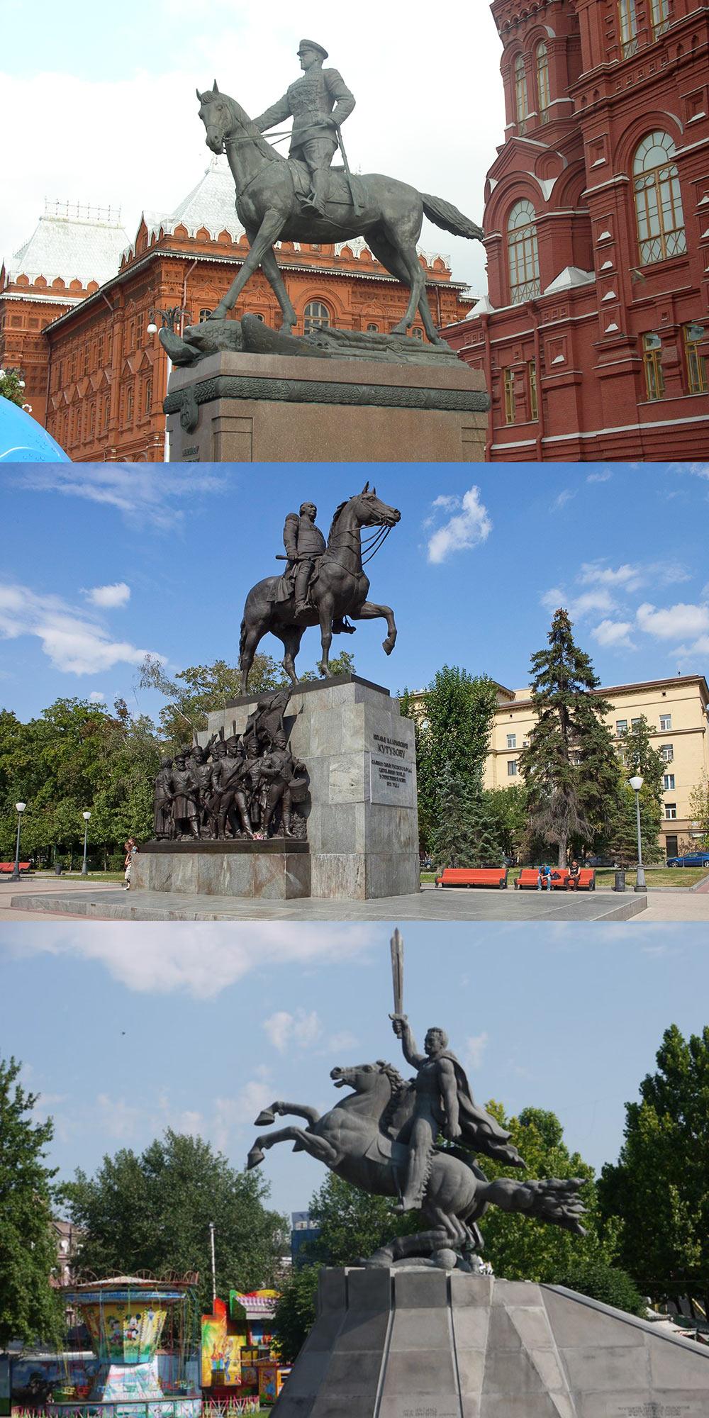 Скрытый символизм в памятниках полководцев