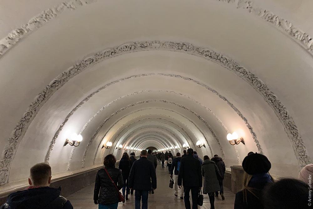 Г***о-о*****о: переходы между станциями метро