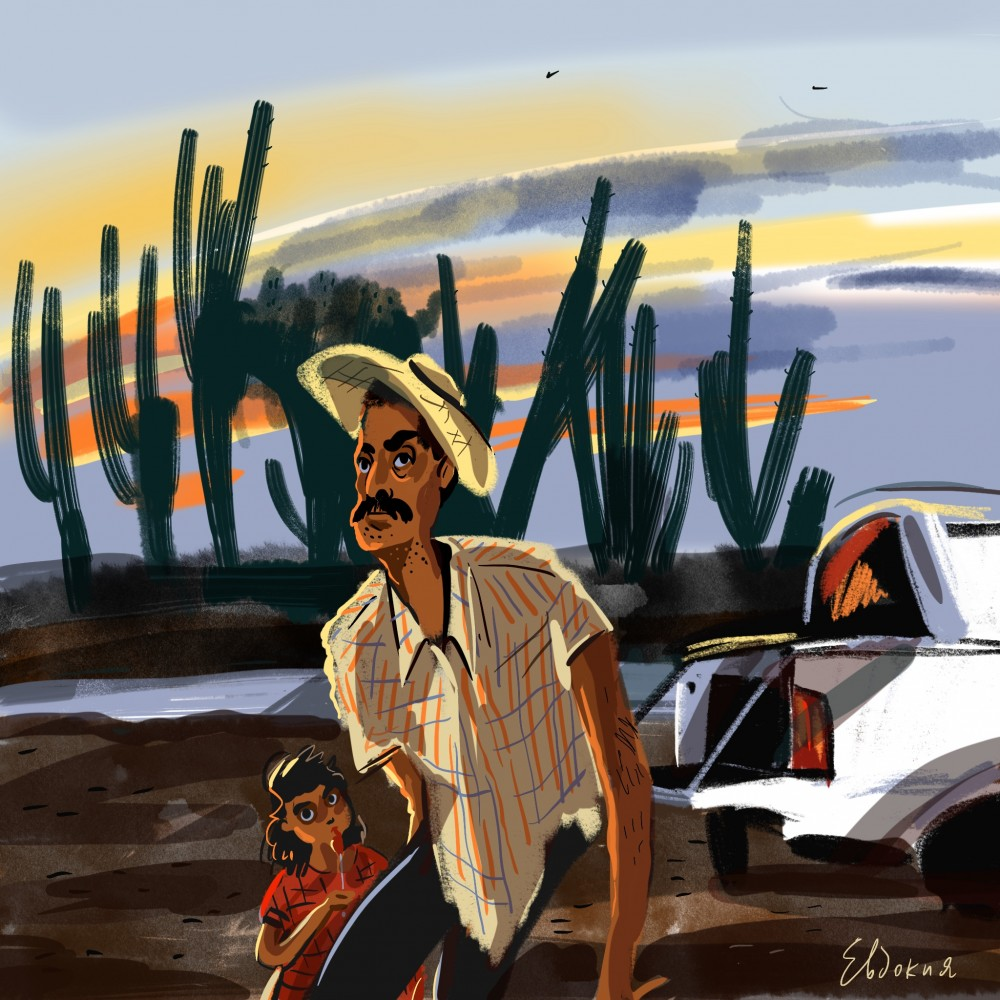 МексЭтноЭксп: День 13. Два перелета. Наркокладбища Кулиакана. +Иллюстрации