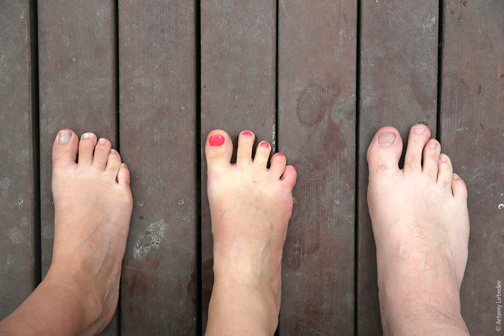 Второй палец на ноге