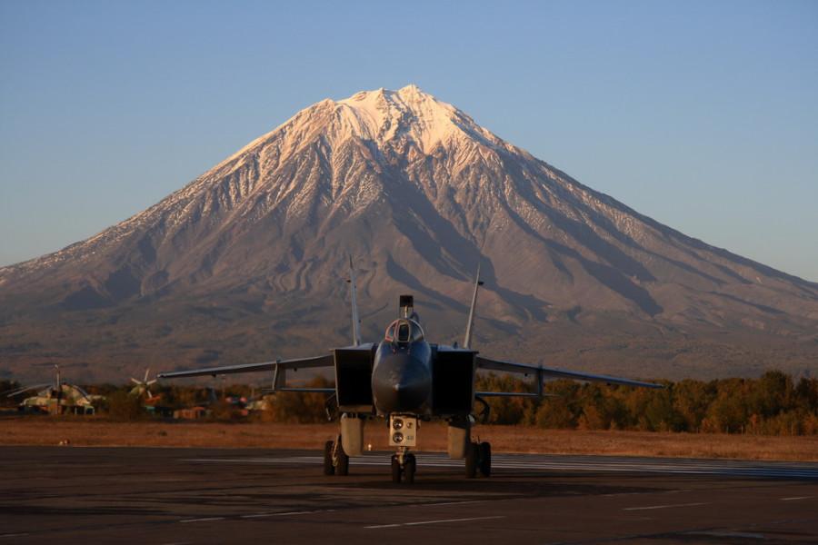 Камчатка МиГ-31