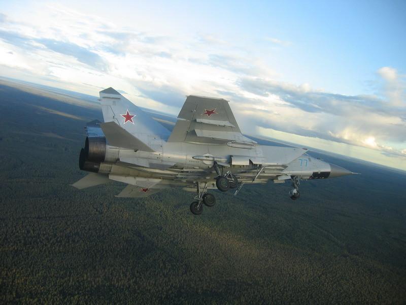Миг-31 с шасси-6
