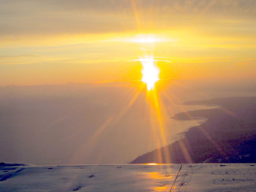 Утро над Ладогой