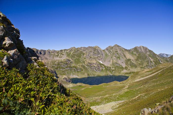 Абхазия. Ткуарчал. Озеро Адюада.