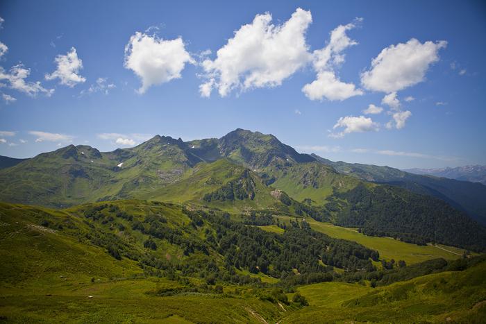 Абхазия. Гудаутский район. Долина Ауадхара.