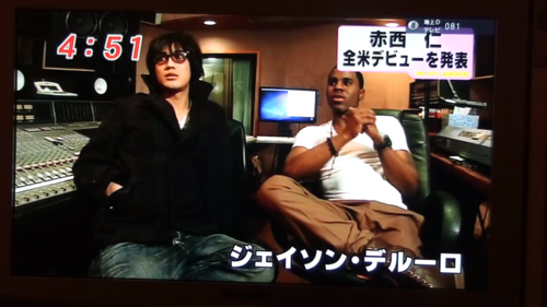 Akanishi Jin and Jason Derulo