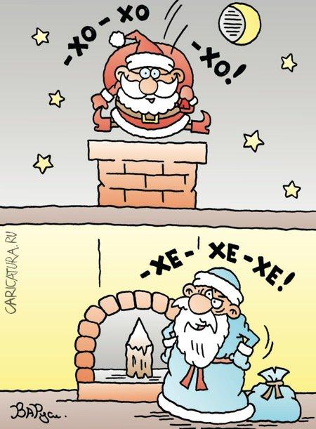 karikatura-moroz-vs-santa_(ruslan-valitov)_22841