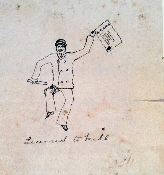 Конан Дойл  бакалавр медицины_Лицензия на убийство_ 1881
