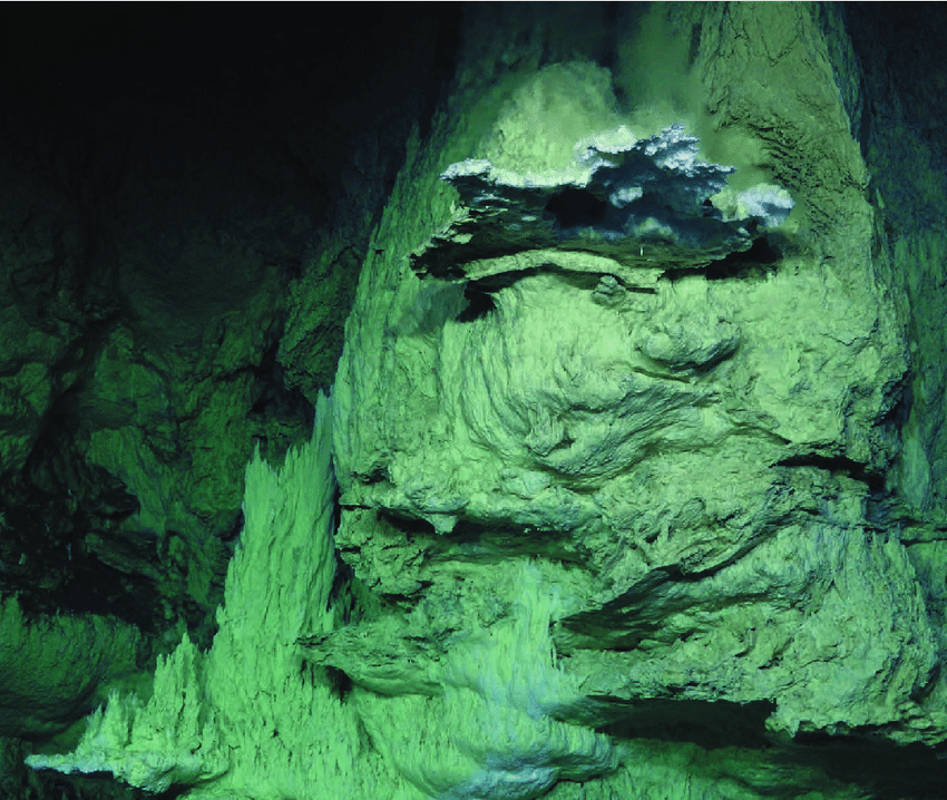 Carbonate-towers-in-hydrothermal-vents-at-the-Lost-City-site-on-the-floor-of-the