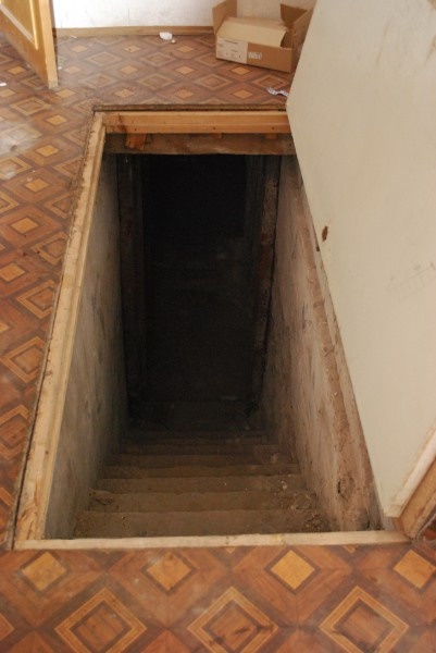 подвал с тайными