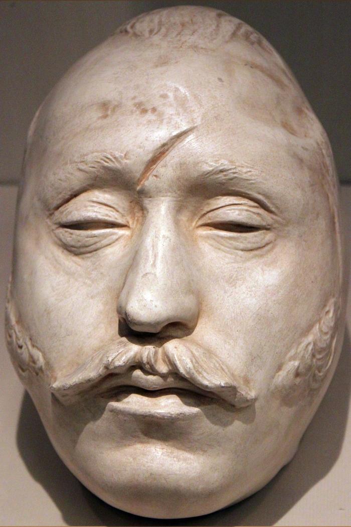 посмертная маска екатерины великой фото