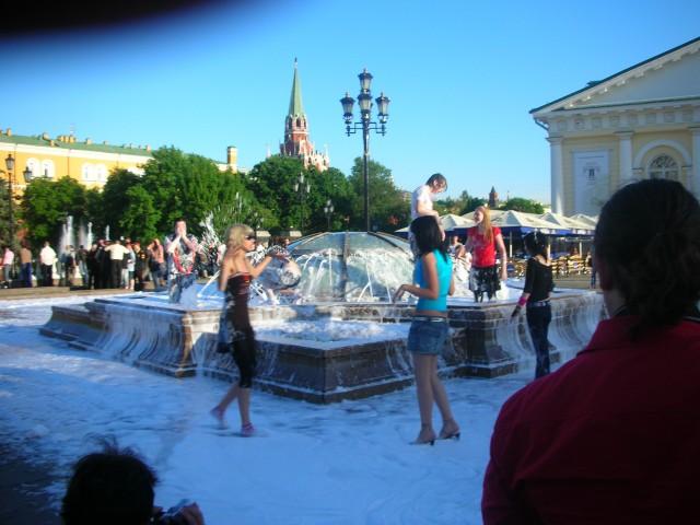 Последний звонок 2007. Манежная площадь.