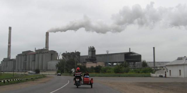 Цементно-шиферный завод. Кричев