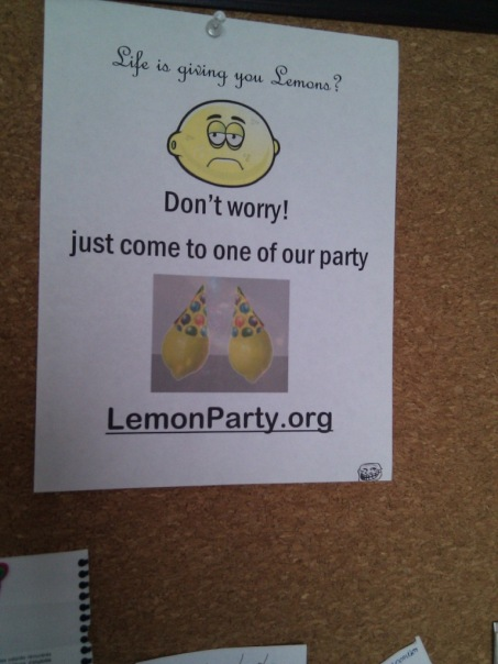 lemonparty.org . Лимонная вечеринка. Лимоны. Пати!