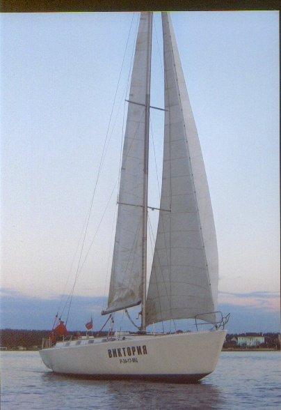 А это яхта Виктория