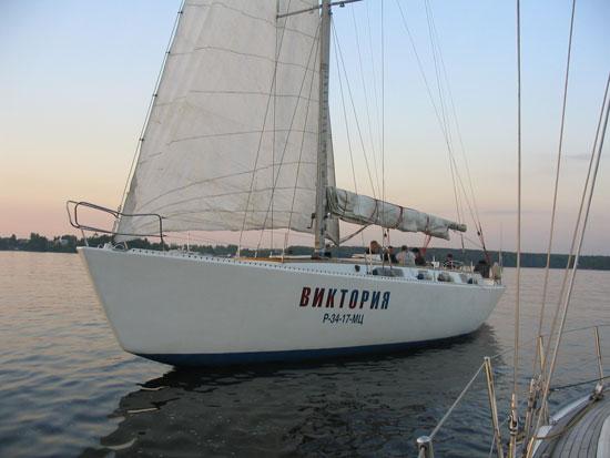 Тоже яхта Виктория
