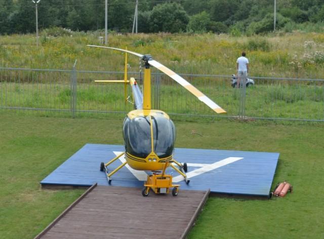 Полет на вертолете с НеоПрезентом