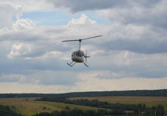 Прогулка на потрясающем вертолете