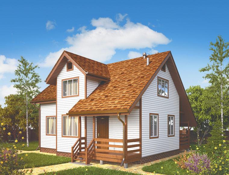 каркасные дома терем фото цены